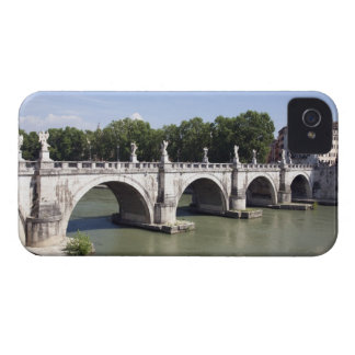 Bridge over the river Tiber, Rome (Italy). It's iPhone 4 Case-Mate Cases