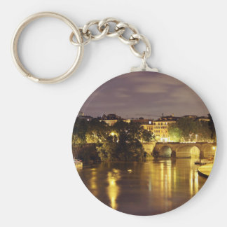 Bridge Over The Tiber River Key Chain