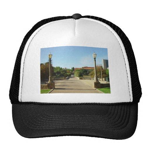 Bridge Over The Torrens To University At Adelaide Mesh Hat