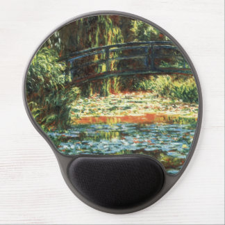 Bridge Over the Waterlily Pond by Claude Monet Gel Mouse Pad