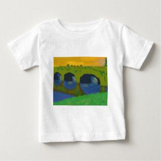 Bridge Over Water Art Baby T-Shirt
