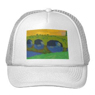 Bridge Over Water Art Cap