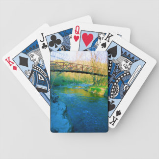 Bridge Over Water Playing Cards