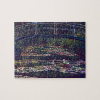 Bridge Over Waterlily Pond by Claude Monet Jigsaw Puzzle