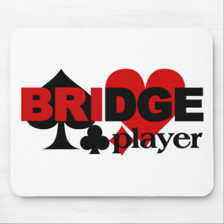 Bridge Player mousepad