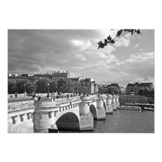 Bridge Pont Neuf. Paris Photo Print
