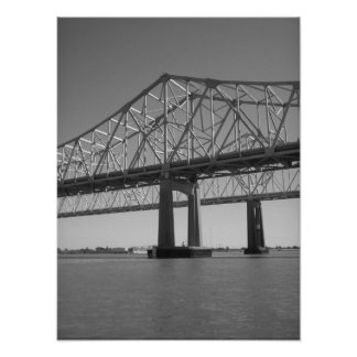 Bridge Print (black and white)