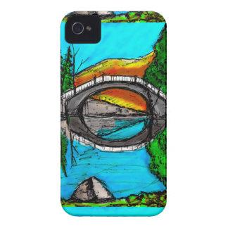 Bridge Reflection Marker #2 Colored iPhone 4 Case