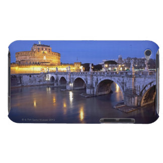 Bridge Sant Angelo and Castel Sant Angelo at Barely There iPod Case
