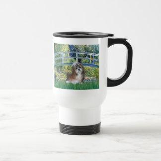 Bridge - Shih Tzu (brown and white) Travel Mug