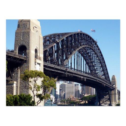 bridge sydney post card