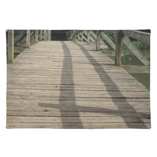 bridge taize lake placemat