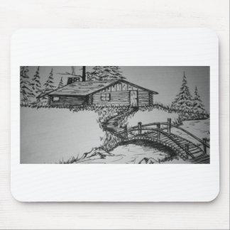 Bridge to Cabin.jpg Mouse Pad