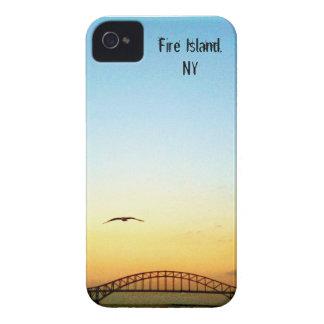 Bridge to Fire Island iPhone 4 Cover