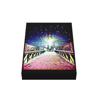 Bridge to Midnight Canvas Print