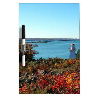 Bridge to St Joseph Island Dry Erase Board