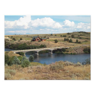 Bridge to the country art photo