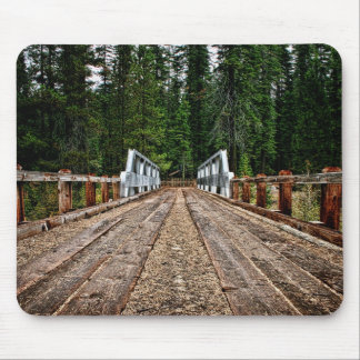 Bridge to the Forest Mousepad
