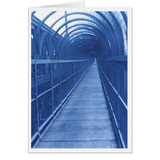 Bridge Walkway Greeting Card