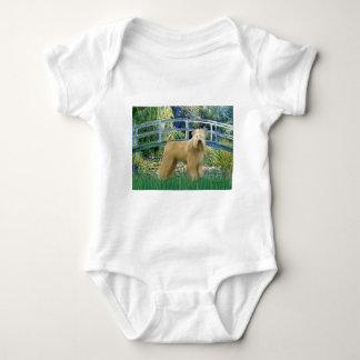 Bridge - Wheaten Terrier 2 Baby Bodysuit