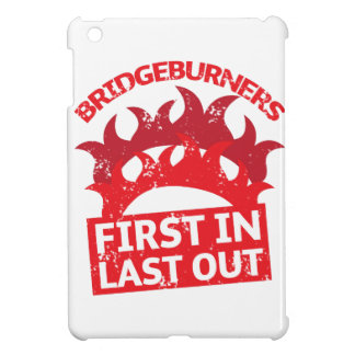 Bridgeburners first in last out insignia 3 cover for the iPad mini