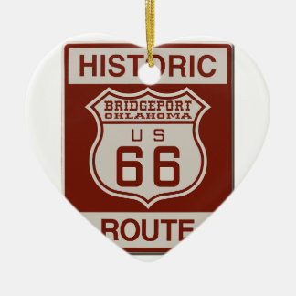 BRIDGEPORT66 CERAMIC ORNAMENT