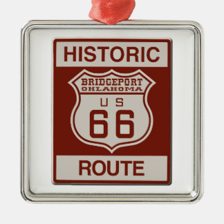BRIDGEPORT66 METAL ORNAMENT