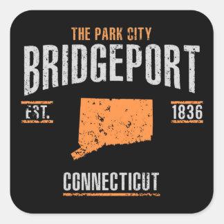 Bridgeport Square Sticker