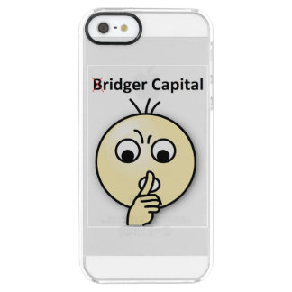 Bridger Capital...Shh (iPhone 5/5s Clearly) Clear iPhone SE/5/5s Case