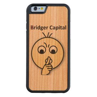 Bridger Capital...Shh (iPhone 6/6s Wooden) Cherry iPhone 6 Bumper