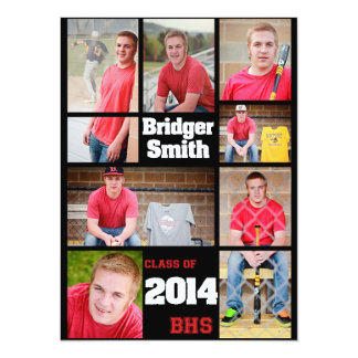 Bridger Custom Graduation Card