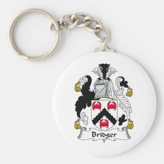 Bridger Family Crest Key Ring