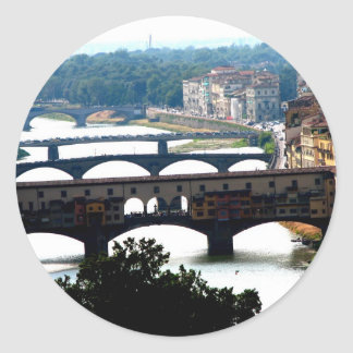 Bridges Classic Round Sticker