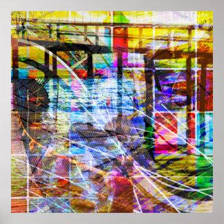 Bridges of Color Poster