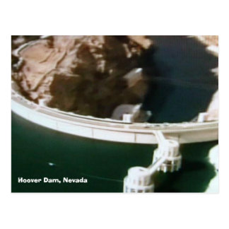 bridges-of-the-world 016, Hoover Dam, Nevada Postcard
