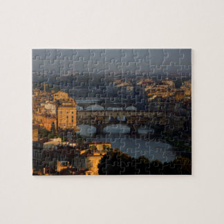 Bridges over the River Arno, Florence, Italy Jigsaw Puzzle