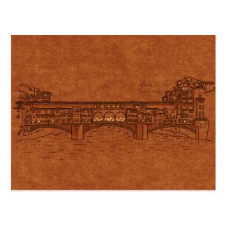 Bridges: Ponte Vecchio Postcard
