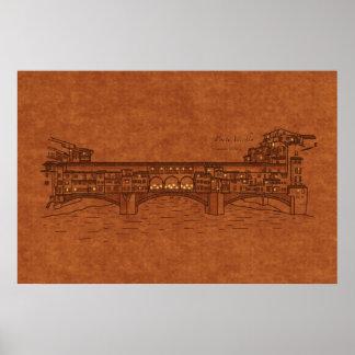 Bridges: Ponte Vecchio Posters