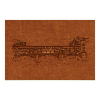 Bridges: Ponte Vecchio Poster