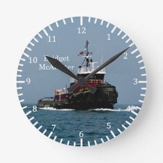 Bridget McAllister clock