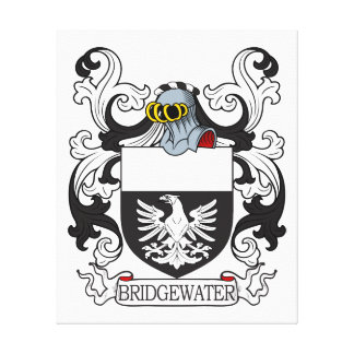 Bridgewater Coat of Arms II Canvas Print