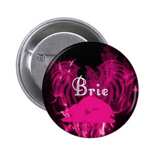 Brie Bennett Button