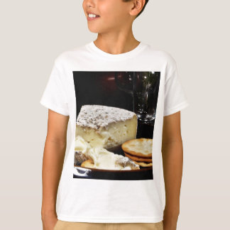 Brie Cheese And Crackers T-Shirt