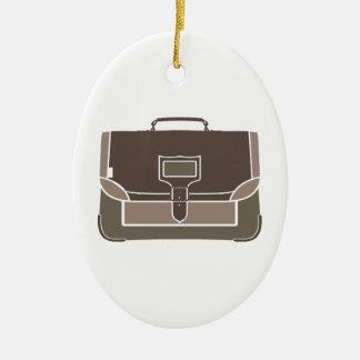 Briefcase Ceramic Ornament