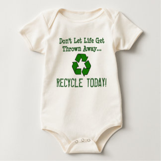 "Brie's ""Recycle Today""! Baby Bodysuit"
