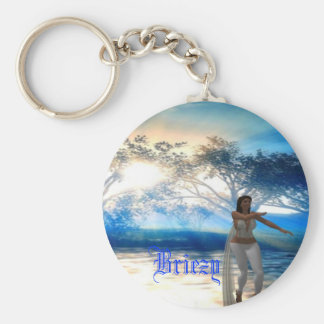 Briezy Blue Fantasy Keychain