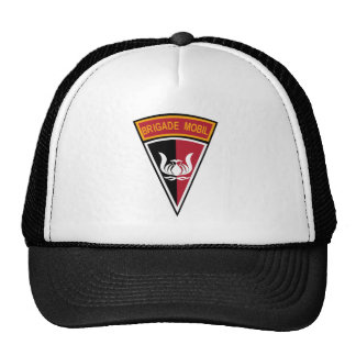 Brigade Mobil Indonesia Military Patch Hats