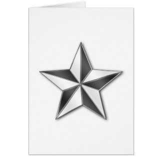 Brigadier General Card