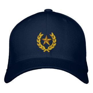 Brigadier General Embroidered Cap