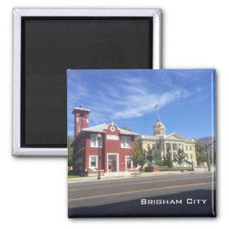 Brigham City - Main Street Square Magnet